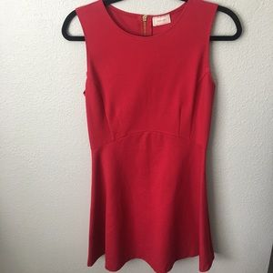 Love...ady A-line Dress. Gorgeous Red NWOT